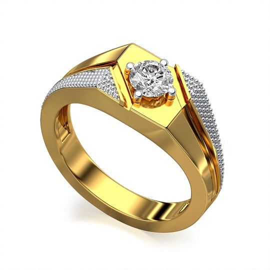 Buy Sheetal Diamonds 0.40tcw Excellent Real Natural Round Solitaire Diamond Ring R0242-14k online