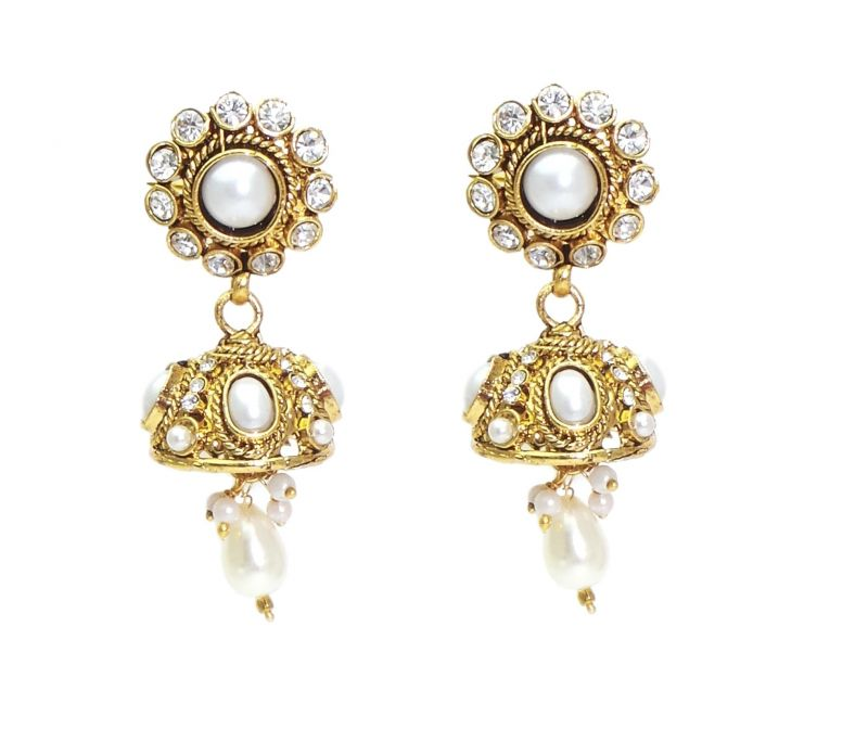 Buy Fashblush Stylish Sparkle Moonshine Alloy Dangle Earring Fb20180 online