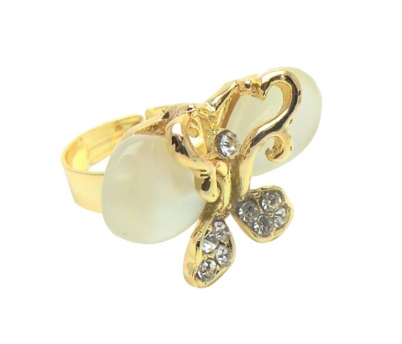 Buy Fashblush Forever New Glam Butterfly Style Alloy Ring online