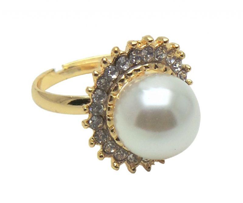 Buy Fashblush Forever Glam Gem Dazzle Alloy Adjustable Ring online