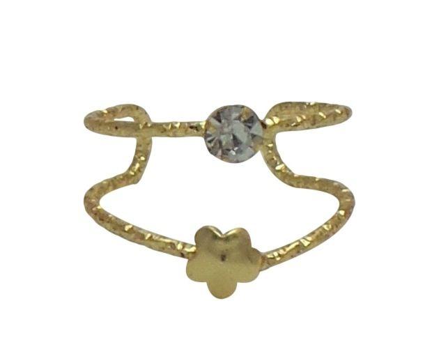 Buy Fashblush Forever New Spring Flower Glam Alloy Ring online