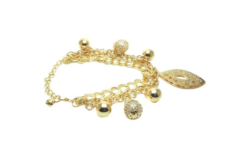 Buy Fashblush Alloy Charm Bracelet Fb26083 online