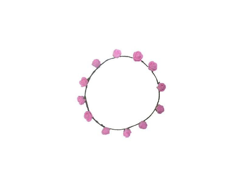 Buy Fashblush Forever New Pretty Glam Roses Flower Leaf Tiara/crown Head Band online