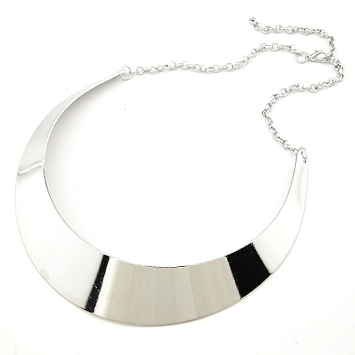 Buy Fash Blush Forever New Silver Alloy Choker online