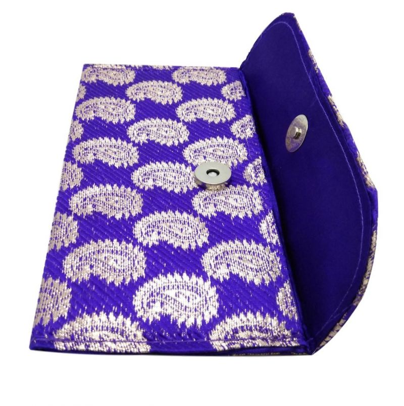 Buy Fashblush Kraft Handmade Festivals/ Gifts/shagun/cash Wedding Envelopes (pack Of 12 Purple, Gold) online