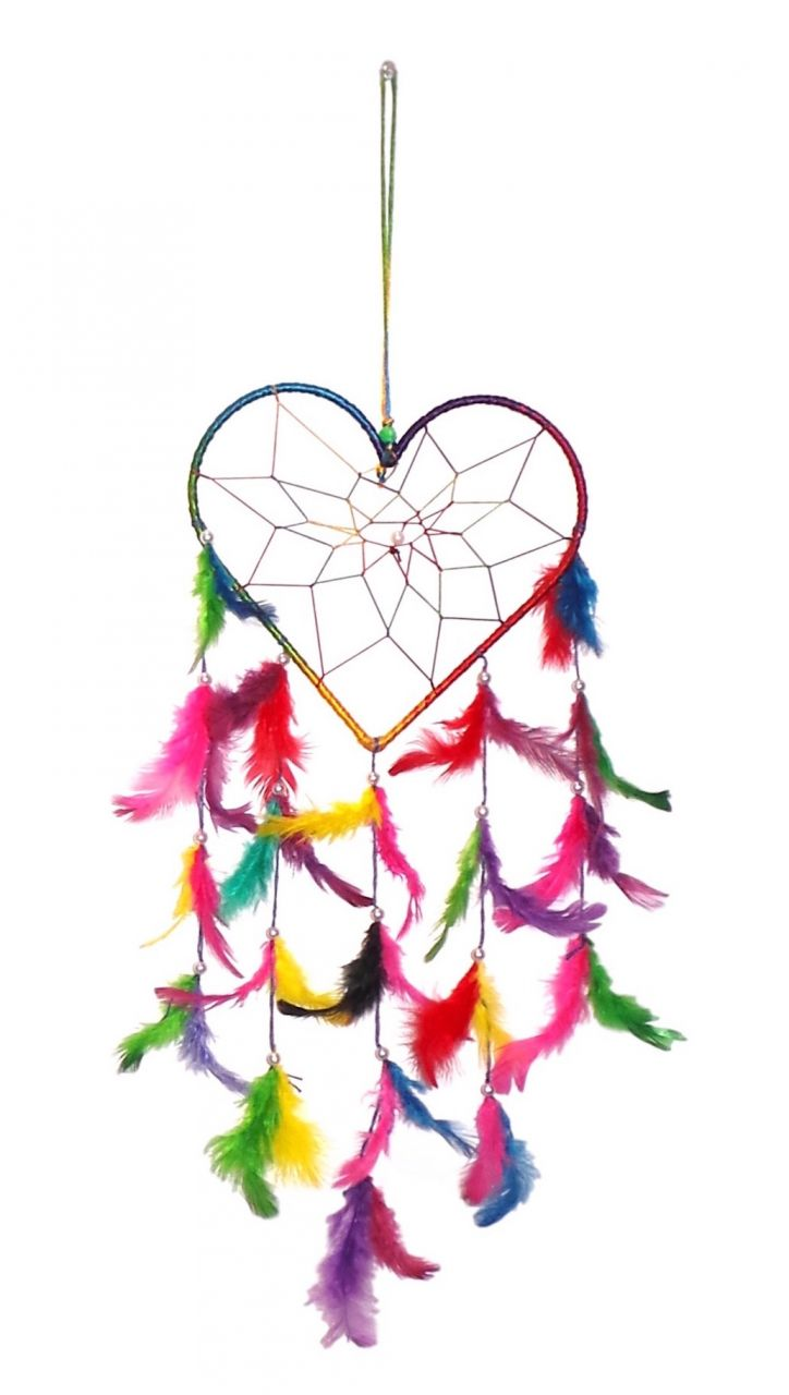 Buy FashBlush Mystical Feathers Dream Catchers Wool Windchime online