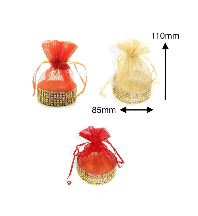 Buy Fashblush Shagun Gift Pouch Potlis Set Of 3 online