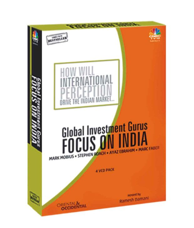 Buy Global Investment Gurus Focus On India VCD online