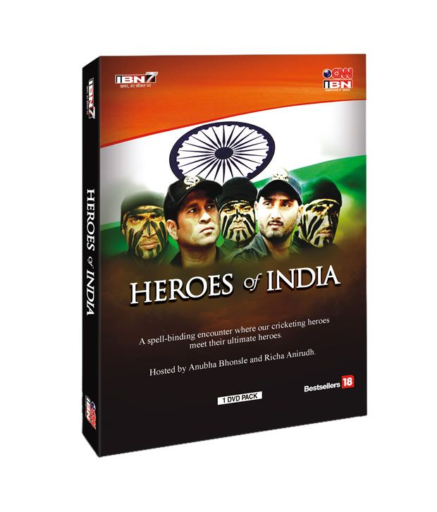 Buy Heroes Of India DVD online