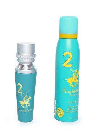 Buy Beverly Hills Polo Club Women Edp Perfume No.2 & Deodorant No 2 online