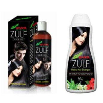 Buy Ayusya Zulf Hair Oil Harbal Hair Shampoo online