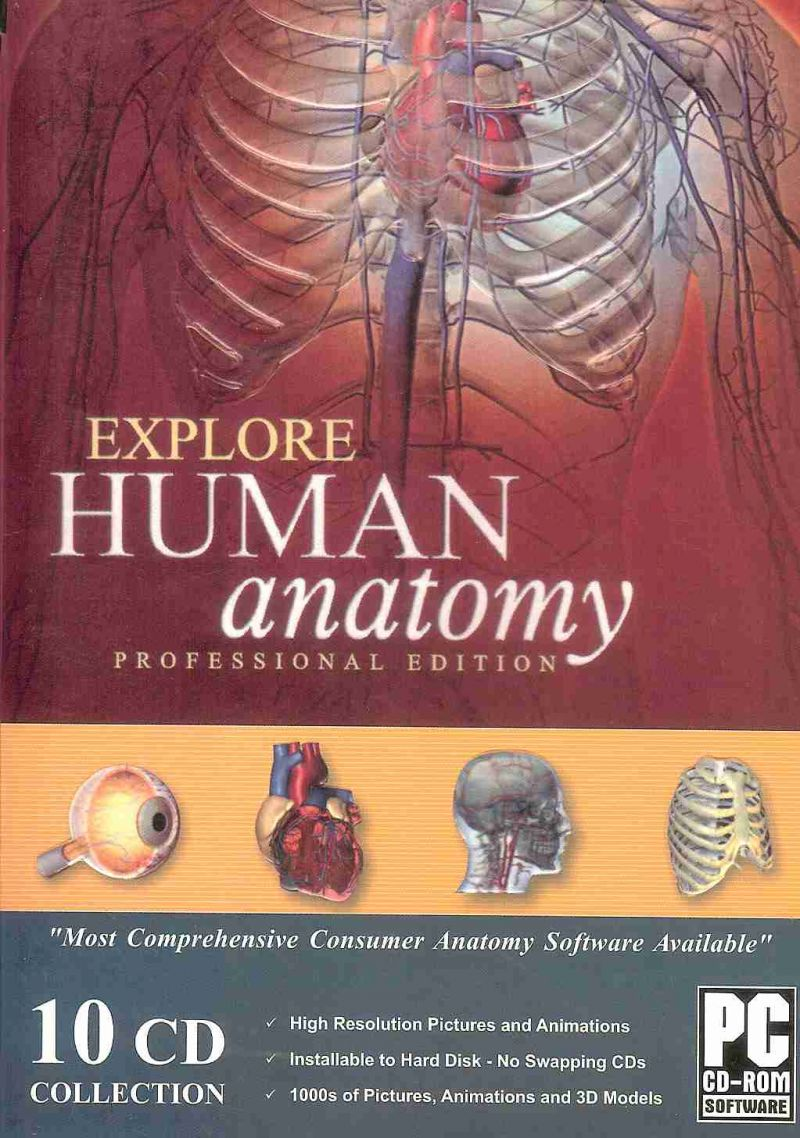 Buy Explore Human Anatomy Professional Edition Online | Best Prices ...
