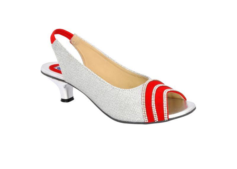 Buy Altek Shiny Smooth Red Heel Sandal (product Code - S1309_red) online