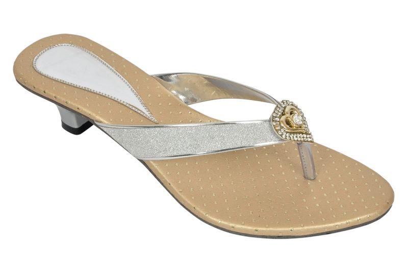 Buy Altek Glossy Shine Stylish Sandal (product Code - S1320_silver) online