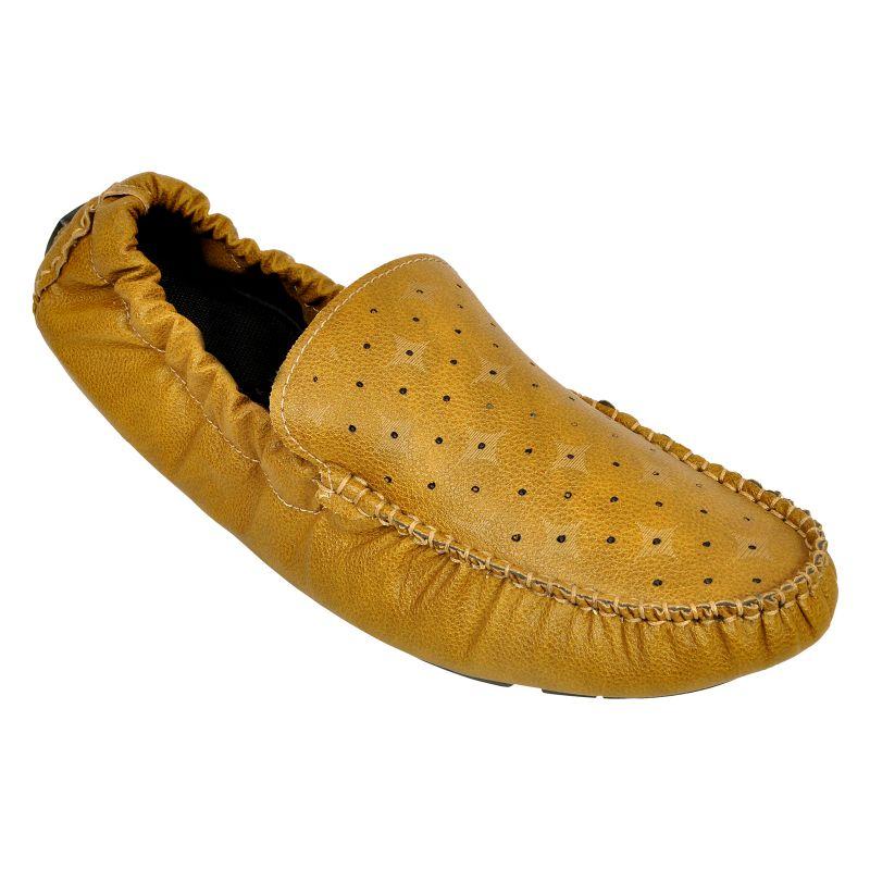Buy Altek Smoothy Designer Elastic Beige Loafer (product Code - Foot_1419_beige) online