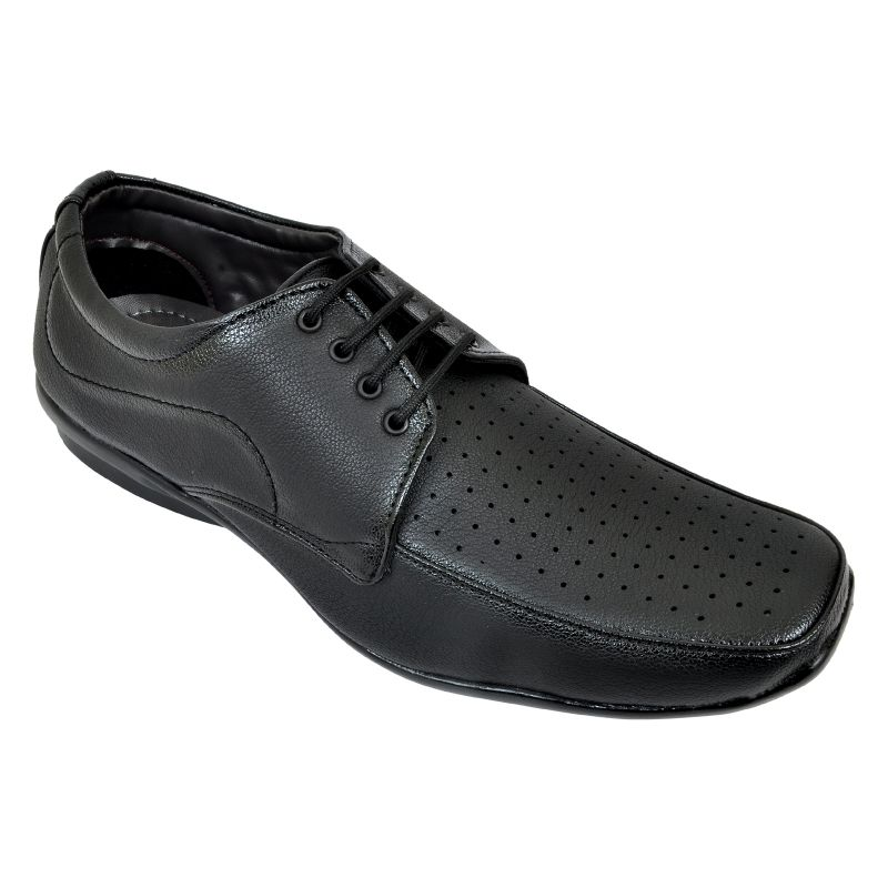 Buy Altek Stylish Comfy Black Laced Formal Shoe (product Code - Foot_1421_black) online