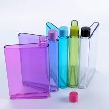 Flat Water Bottle >> Buy Snr A5 Memo Paper Bottle Flat Portable Notebook Water Bottle 420
