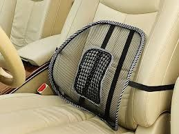 Buy Car Seat Massage Chair Back Lumbar Support Mesh Ventilate Cushion Pad online
