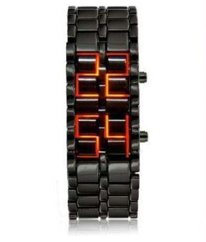 Buy Dh LED Display Cum Bracelet Watch online