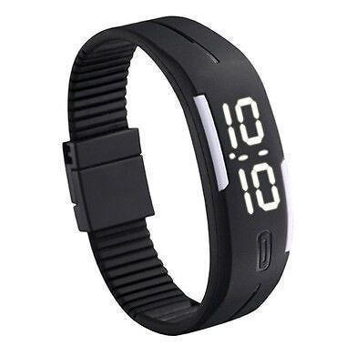 Buy LED Digital Watches Jelly Men Wristwatch Magnet Buckle Clock online