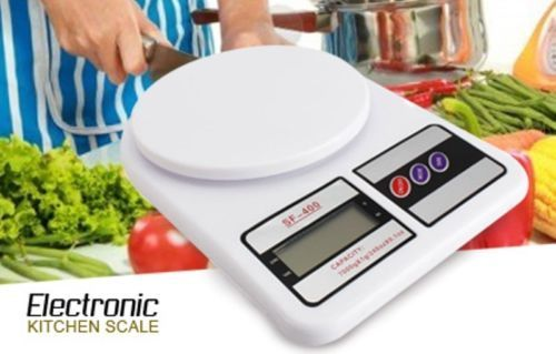 Buy Home Basics 7kg Electronic LCD Kitchen Weighing Scale Machine online