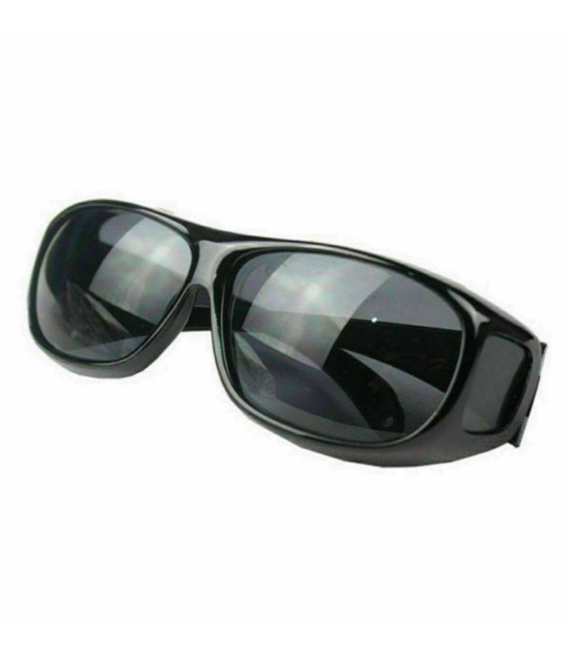 Buy Unisex HD Night Vision Driving Sunglasses Over Wrap Around Glasses online