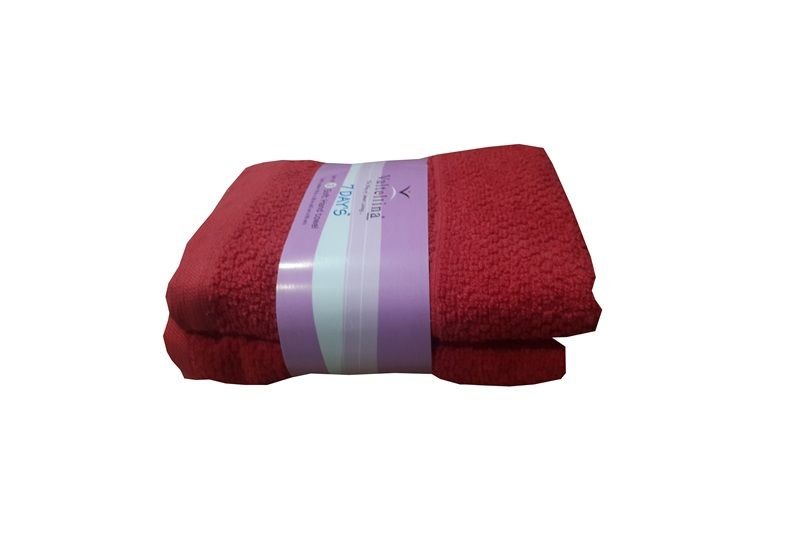 Buy Welhouse India Soft Touch Premium Cotton Hand Towel - Pack Of 2 online