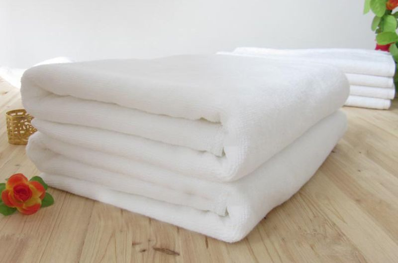 Buy Welhouse India Plain White Bath Towel Set Of 2 online