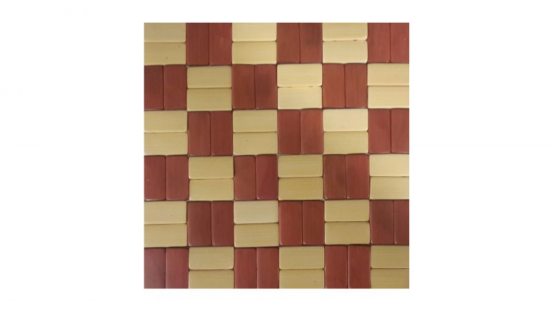 Buy Set of 4 Wooden Double - Sided Square Table Coaster Placemats - Welhouse online