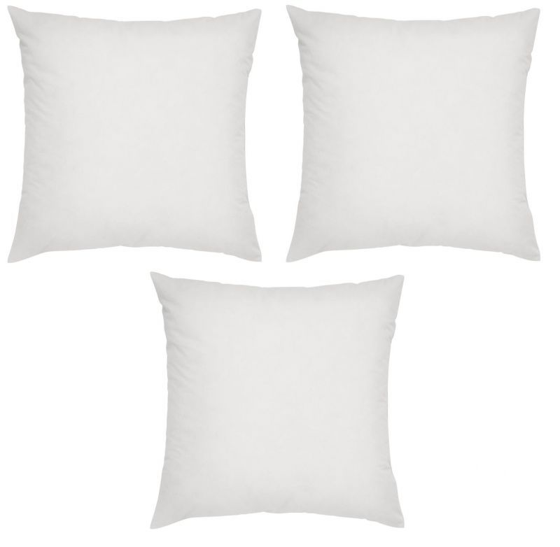 Buy Welhouse Non Wooven cushion filler set of 3 (18x18inches) online