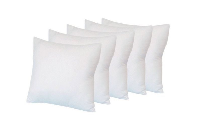 Buy Welhouse Non Wooven cushion filler set of 5  (18x18inches) online