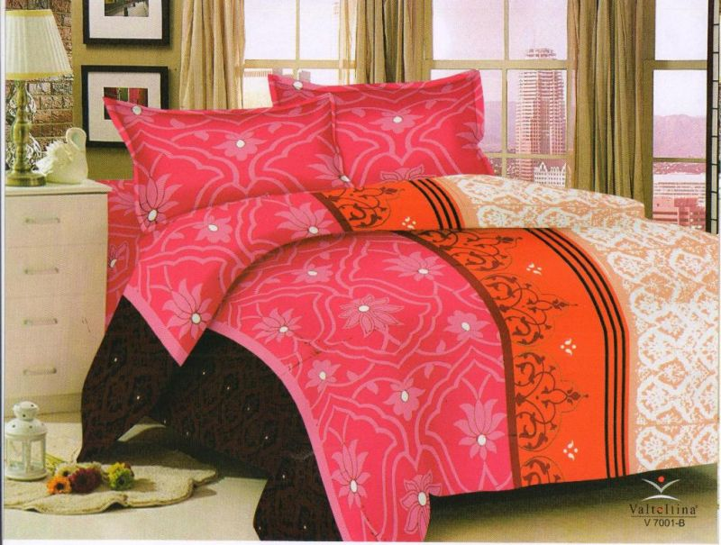 Buy Welhouse India Traditional Print Cotton King Size Bedsheet & 2 Pillow Cover Em-005 online