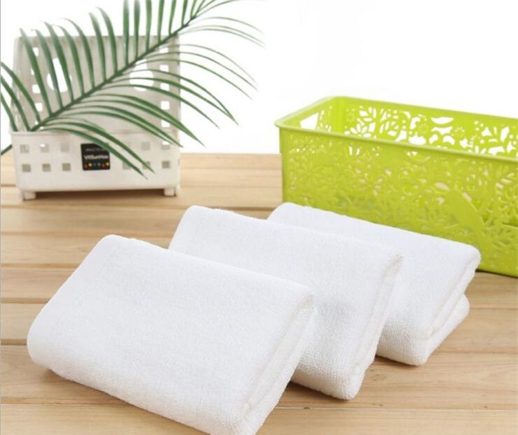 Buy Welhouse India Plain White Face Towel Set Of 3 online