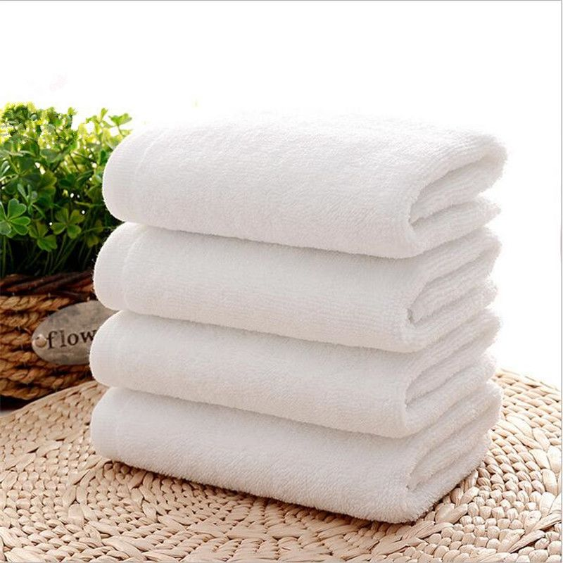 Buy Welhouse India Plain White Face Towel Set Of 4 online