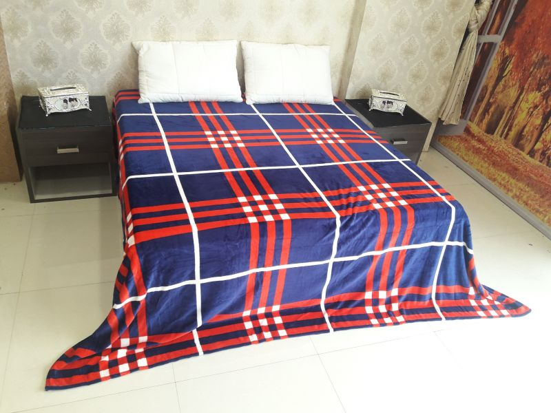 Buy Welhouse stripes Double Bed AC Blanket online