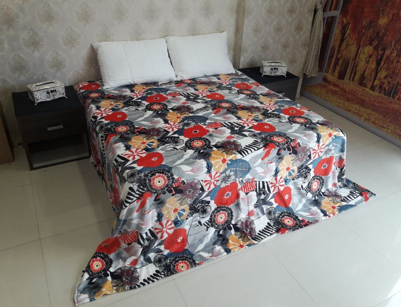 Buy Welhouse floral Double Bed AC Blanket online