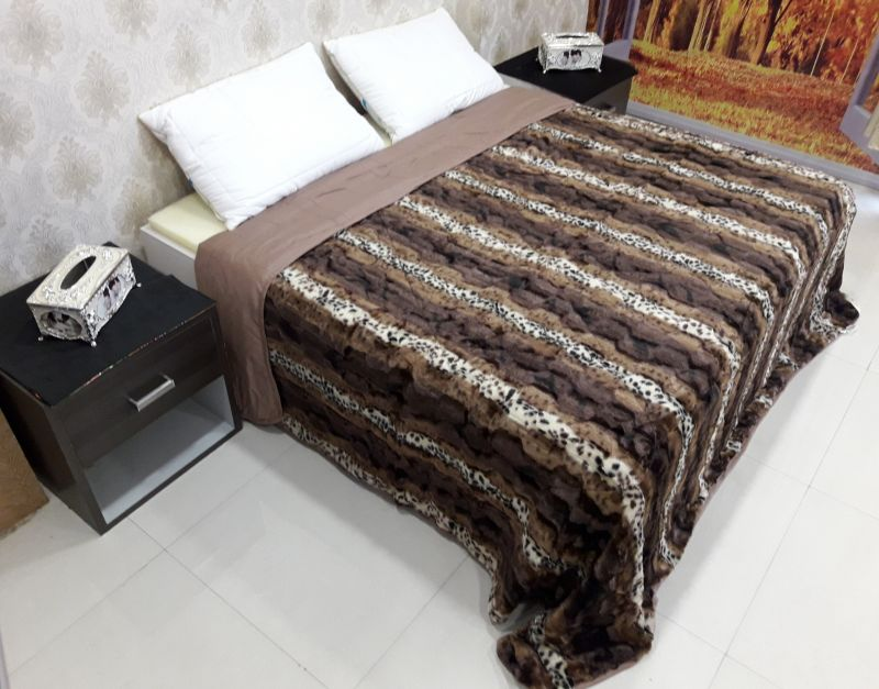Buy Welhouse India Animal Print Double Bed Classic Quilt online