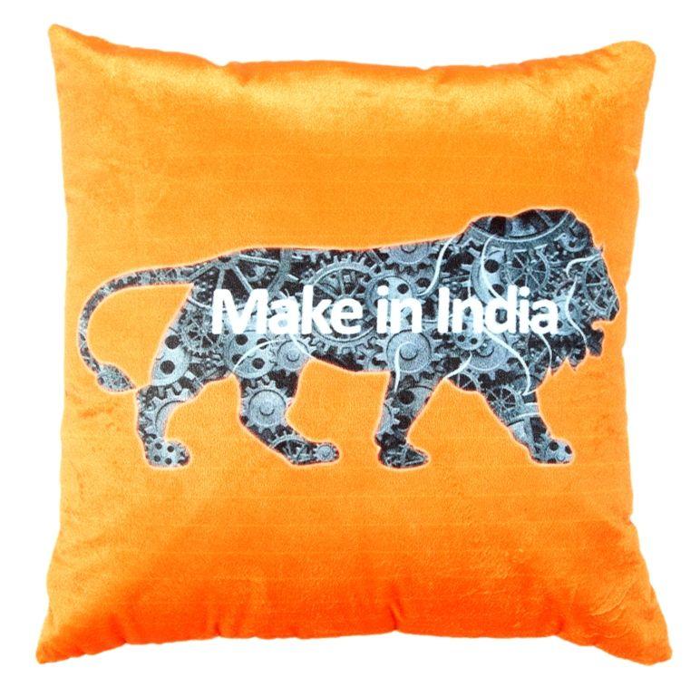 Buy Welhouse Make In India Printed Cushion Cover Vl_cu-030 online