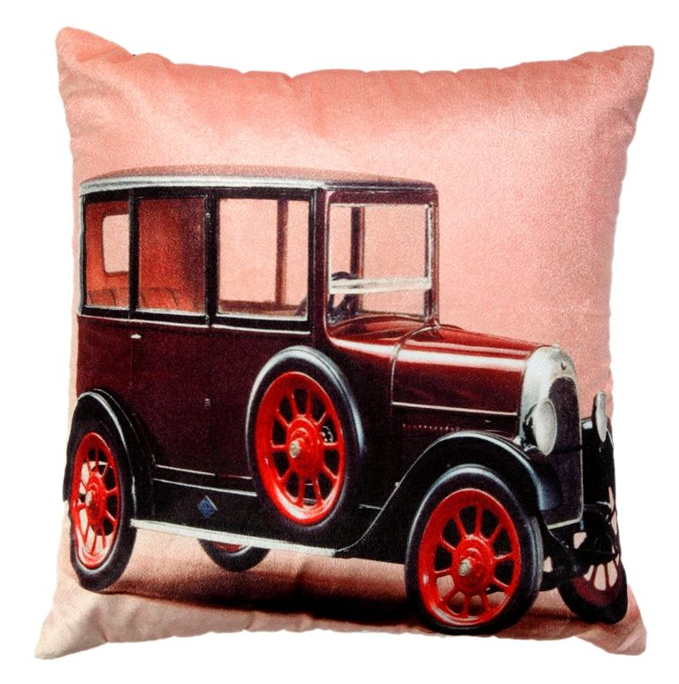 Buy Welhouse Traditional Jeep Printed Cushion Cover Vl_cu-036 online