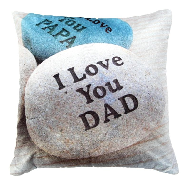 Buy Welhouse I love you dad printed cushion cover online