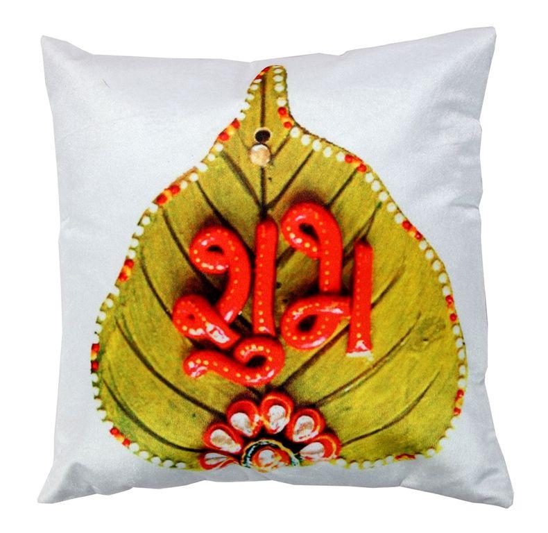 Buy Welhouse Shubh Printed Cushion Cover Vl_cu-071 online