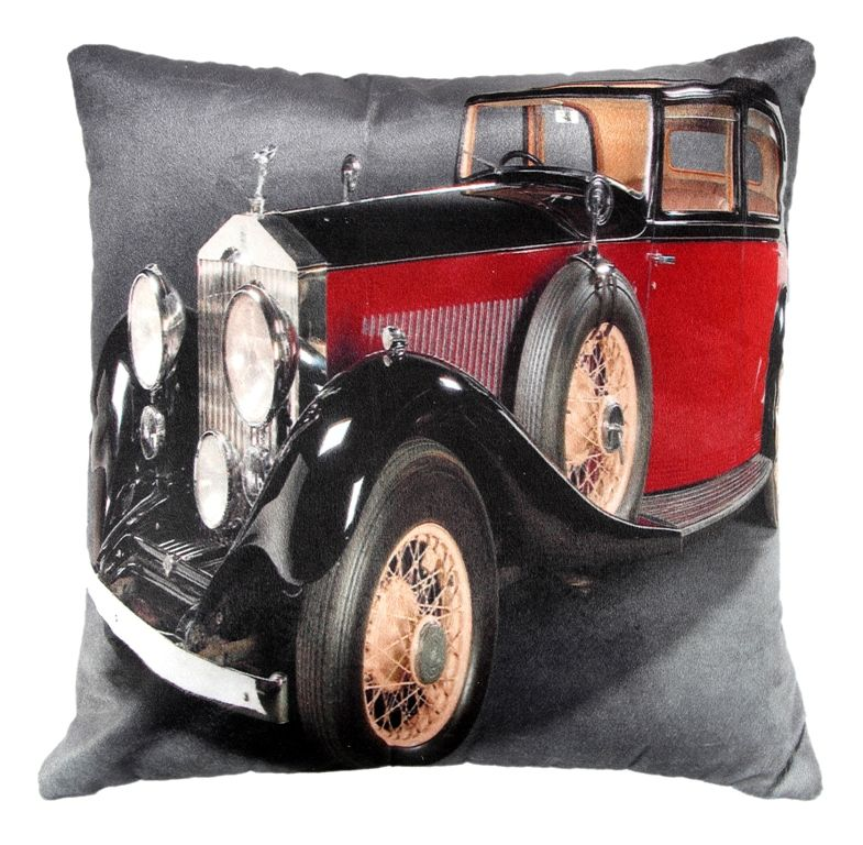 Buy Welhouse Stylish Jeep Printed Cushion Cover Vl_cu-075 online