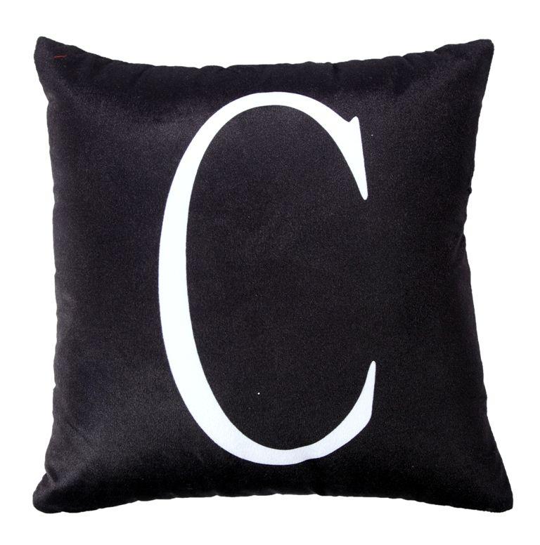 Buy Welhous Alphabet Printed Cushion Cover online