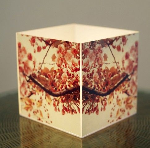 Buy 10 am Flowers Cube Lamp online