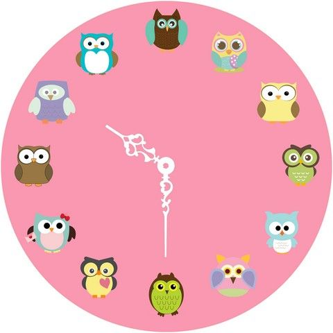 Buy 10 am Owl Clock- Acrylic online
