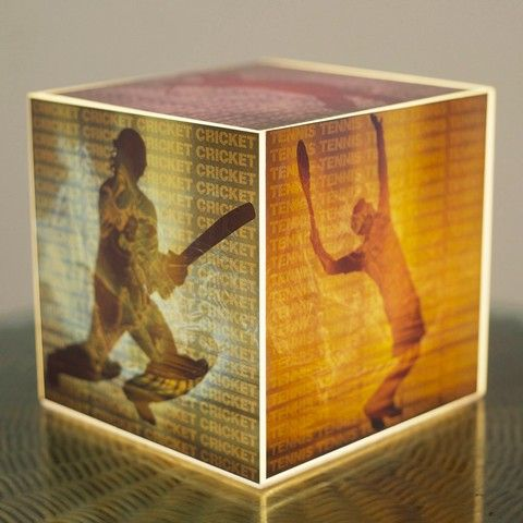 Buy 10 am Sports Cube Lamp online