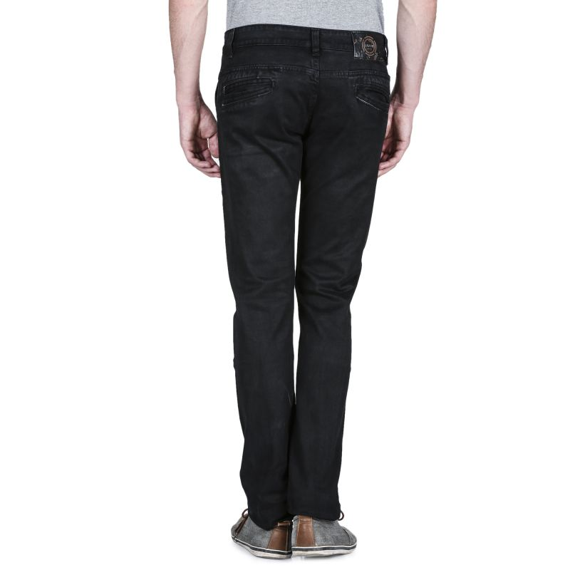 Buy Savon Mens 102 Slim Fit Black Stretch Denim Jeans For Men online