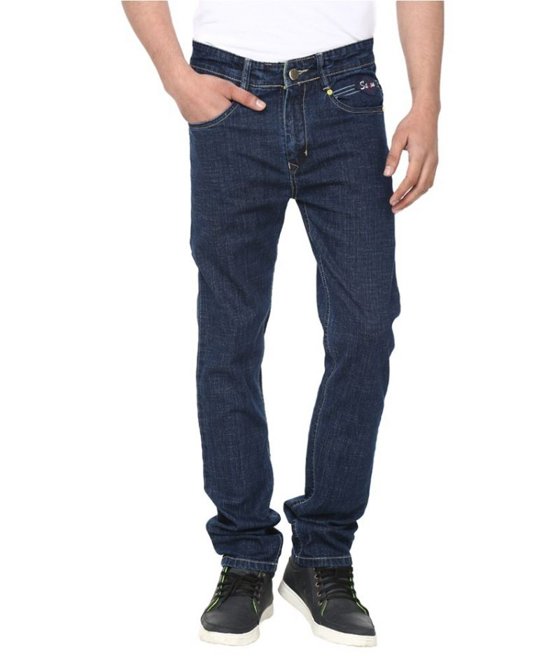 Buy Savon Blue Slim Fit Basics Jeans online