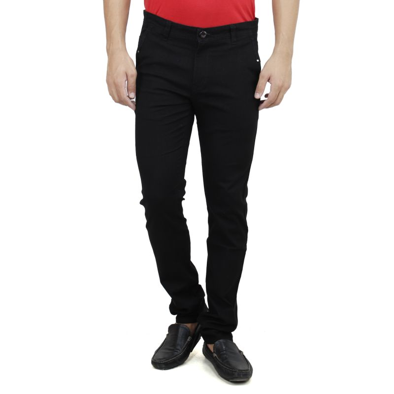 Buy Savon Mens Slim Fit Stretch Linen Look Trouser For Men Light Comfortable Fabric online
