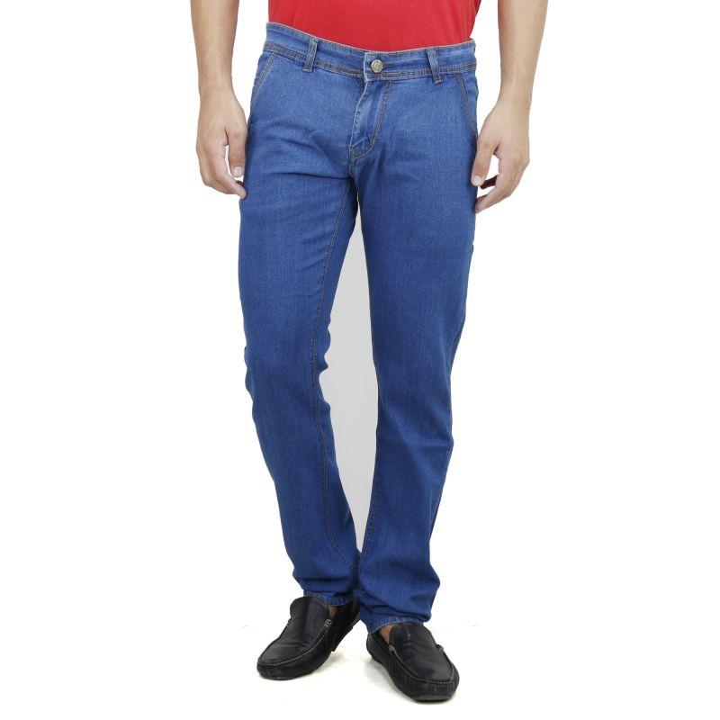 Buy Savon Mens Slim Fit Blue Denim Jeans For Men (product Code - Sh507107-01) online